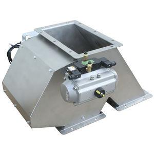 permanent magnet separator / metal / self-cleaning / high-intensity