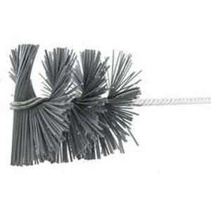 cylindrical spiral brush / abrasive / silicon carbide