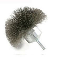 cup brush / end / circular / cleaning