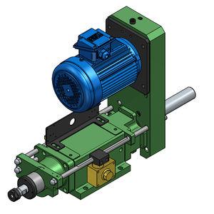 electro-hydraulic drilling unit