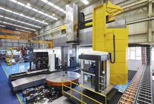 gantry CNC milling machine / 3/5-axis / vertical / high-rigidity
