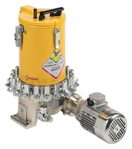 oil lubrication system / grease / centralized / multi-point