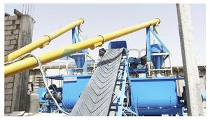 bulk material weighing system