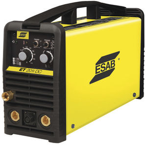 TIG welding power supply / portable / with integrated display / single-phase