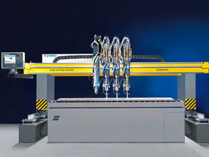 gantry type cutting machine / for aluminum / for stainless steel / plasma