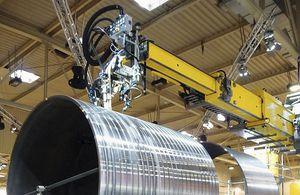 wall-mounted jib crane / lifting / telescopic