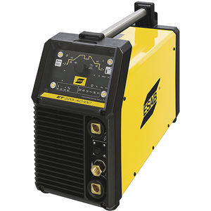 TIG welding power supply / portable / inverter / with integrated display