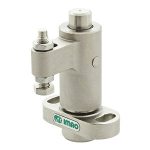 pneumatic clamp / swing / adjustable / compact