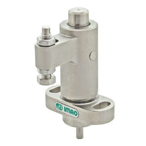 pneumatic clamping element / compact / double-acting / swing