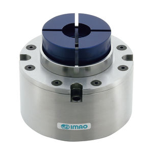pneumatic clamp / compact / double-acting / machining