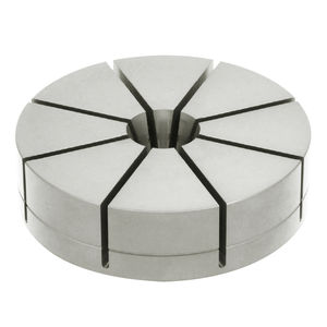 aluminum workpiece clamping chuck / machinable / 8-jaw