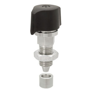 lockable indexing plunger
