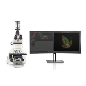 laboratory microscope / upright / fluorescence / 3D