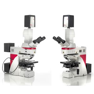 laboratory microscope / optical / upright / fluorescence