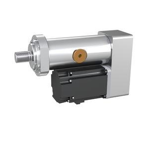 electric servo-cylinder / roller screw linear / compact / lightweight