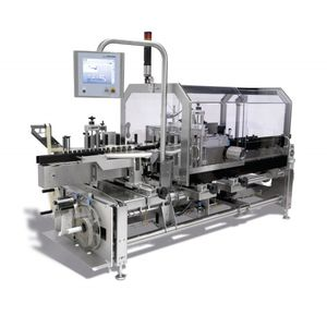 automatic labeler / for packaging / side / linear array