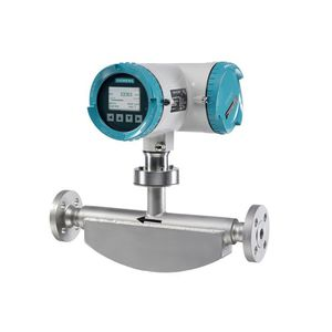 Coriolis flow meter / for gas / for liquids / compact