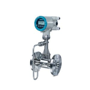 vortex flow meter / for gas / for liquids / stainless steel