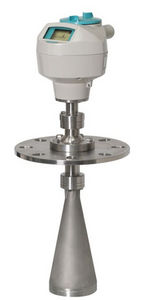 radar level transmitter / for solids / pulse burst / 2-wire