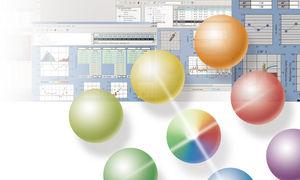 quality control software / measurement / process control / R&D