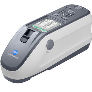 measuring spectrophotometer / color / portable / sphere