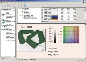 analysis software / process control / for quality control / color