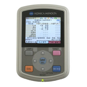 color spectrophotometer / portable / for color measurement