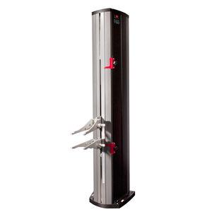 strain gauge extensometer / transverse / axial / tensile