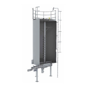 silo with mixer / for powders / bulk / for the plastics industry