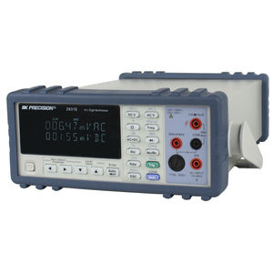 true RMS multimeter / digital / benchtop / 1000 V