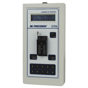 integrated circuit tester / impedance / rugged / analog
