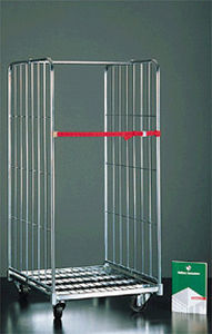 textile roll container / 4-panel / 3-panel / metal