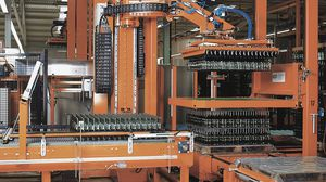 layer palletizer and depalletizer