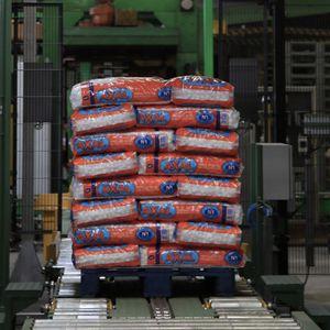 driven roller conveyor / bag / cement / transfer