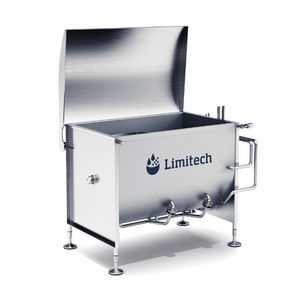 horizontal blender / batch / solid / for the food industry