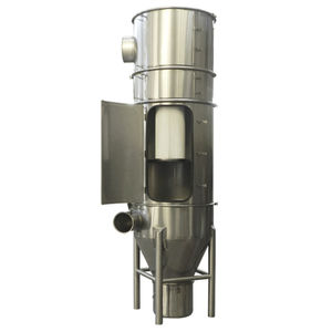 membrane filtration unit / dust / pneumatic / stainless steel