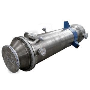 shell and tube heat exchanger / liquid/liquid / air/water / air/oil