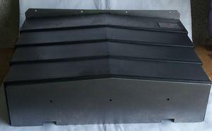 machine tool telescopic cover / steel / horizontal / custom-made
