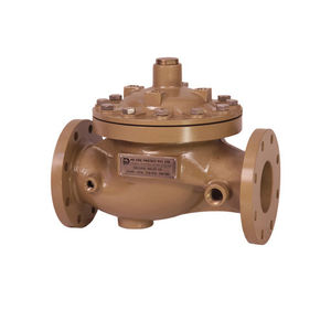 diaphragm valve / manual / flow control / for water