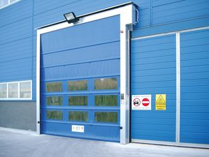 high-speed doors / folding door / galvanized steel / exterior