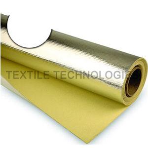 thermal protection fabric / polyester / para-aramid / high-temperature