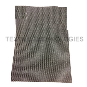 glass fiber-reinforced composite fabric / E fiberglass / stainless steel / for thermal protection