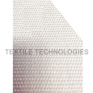 textured fabric / fiberglass / for thermal protection / high-temperature