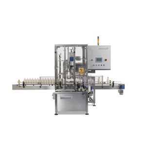 linear screw capping machine / multi-head / fully-automatic / multi-container