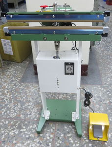 pedal-operated impulse sealer / horizontal / industrial / for food