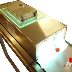 process sterilizer / UV / tunnel / for the food industry