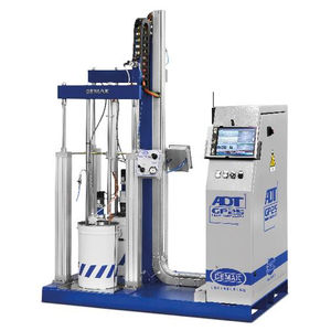 dispensing system for the electronics industry / with gear pump / adhesive / high-viscosity resin