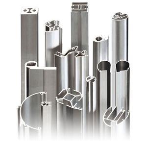 metal extrusion / aluminum / profile / for tubes