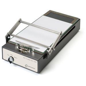 roller coating machine / laboratory / adhesive / plastic film