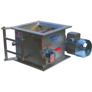 magnetic grate separator / metal / for the food industry / automatic